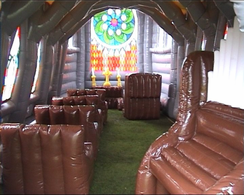 The Inflatable Idea Org: A place for poor Scientologists.