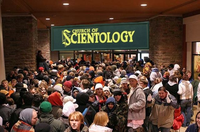 Millions of people clamor for Scientology each and every day!