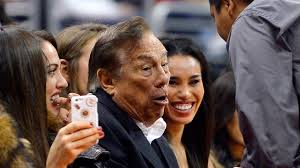 Donald Sterling appears to be choking on his own words.