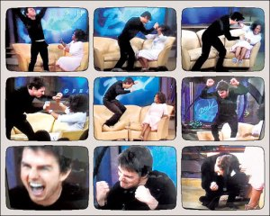 Scientology OT Tom Cruise attacked by the Psych media for speaking out against Psych drugs.