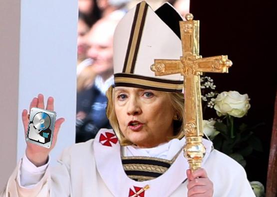 Pope.Hillary